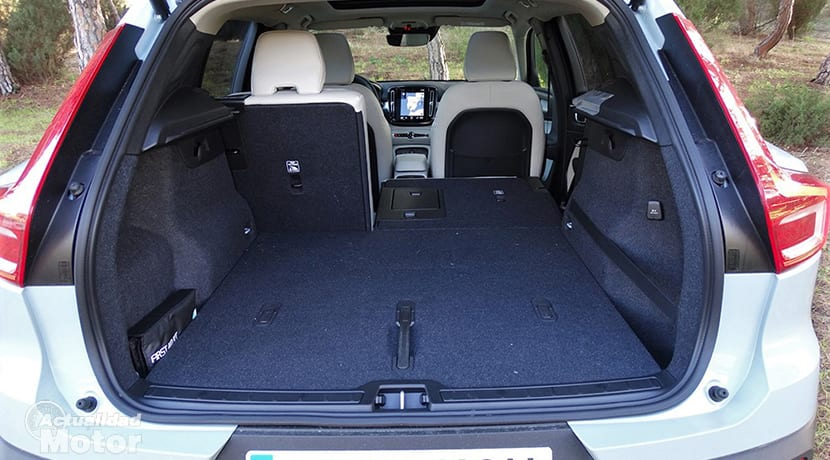 Prueba Volvo XC40 maletero