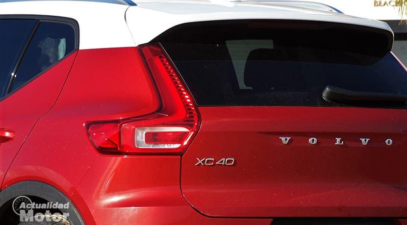 Prueba Volvo XC40 detalle exterior