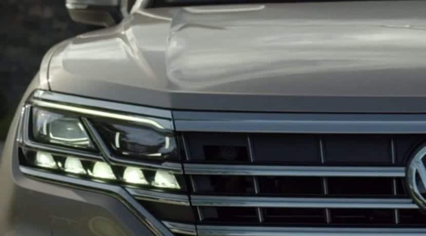 Teaser del nuevo Volkswagen Touareg