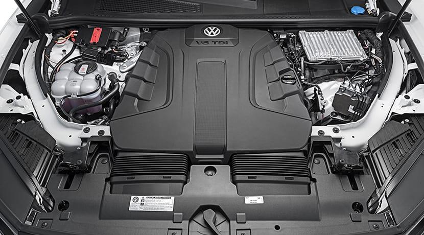 Volkswagen Touareg motor v6 tdi