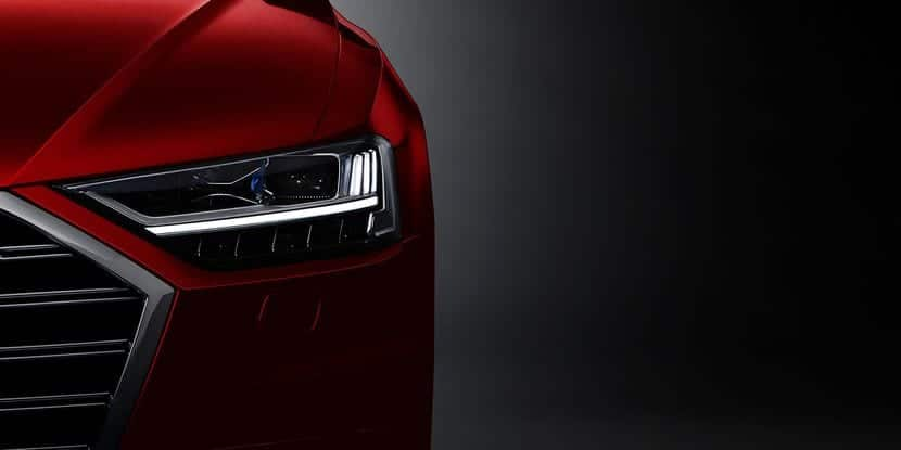 Faro del Audi A8