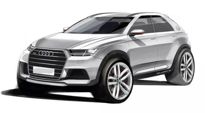 Audi Q1 boceto