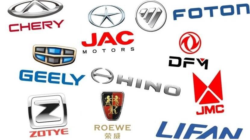 Marcas de Coches Chinas Sector del Automóvil