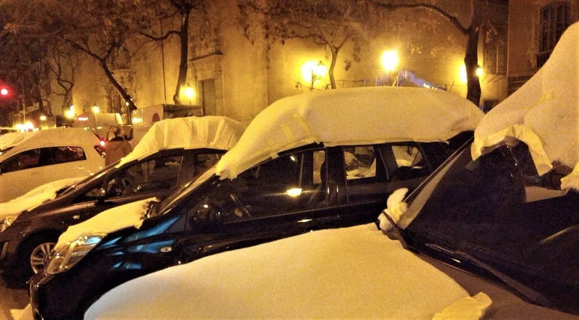 Apararcar en lugar correcto para arrancar el coche en frío