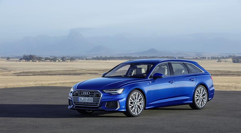Audi A6 Avant perfil delantero