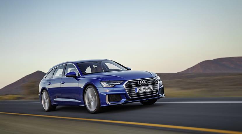Audi A6 Avant dinámica perfil delantero