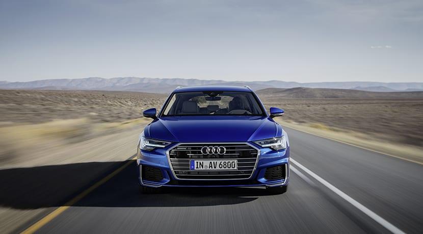 Audi A6 Avant frontal