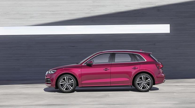 Audi Q5L de batalla larga para China