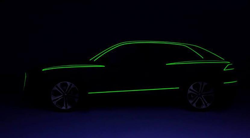 Teaser del Audi Q8