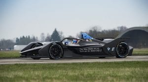 BMW iFE.18 monoplaza para la Formula E