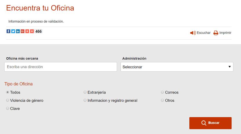Registro presencial en el sistema Cl@ve