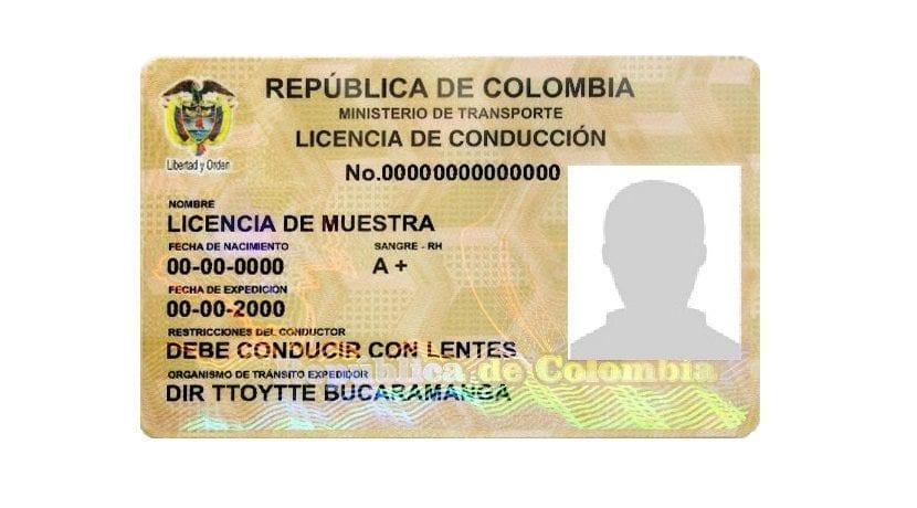 canjear carnet colombiano en España