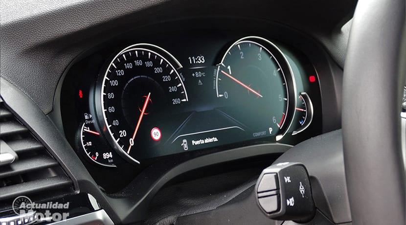 Cuadro de instrumentos digital BMW X3