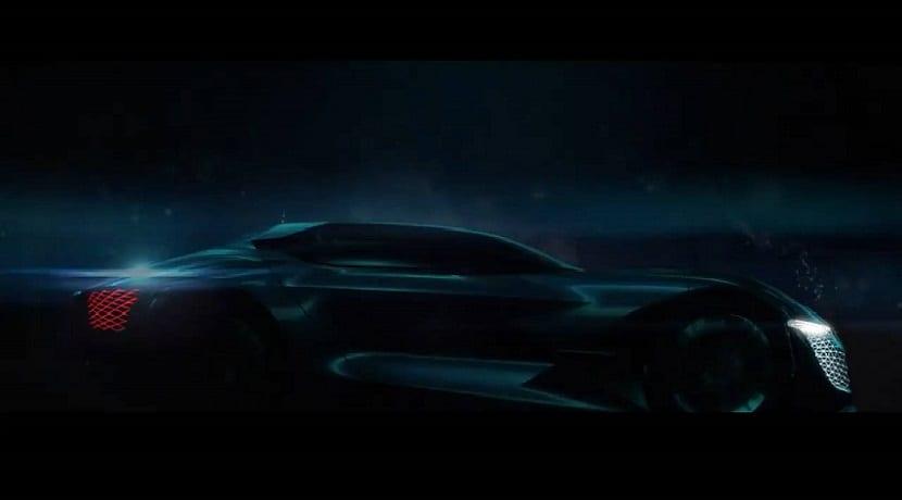 DSX E-Tense vídeo teaser prototipo
