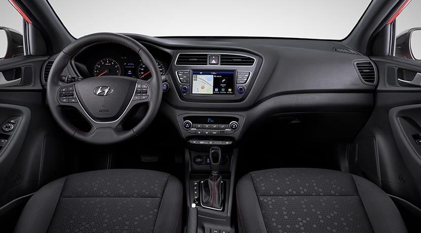 Hyundai i20 restyling interior