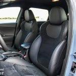 Asientos de alcantara del Hyundai i30 N