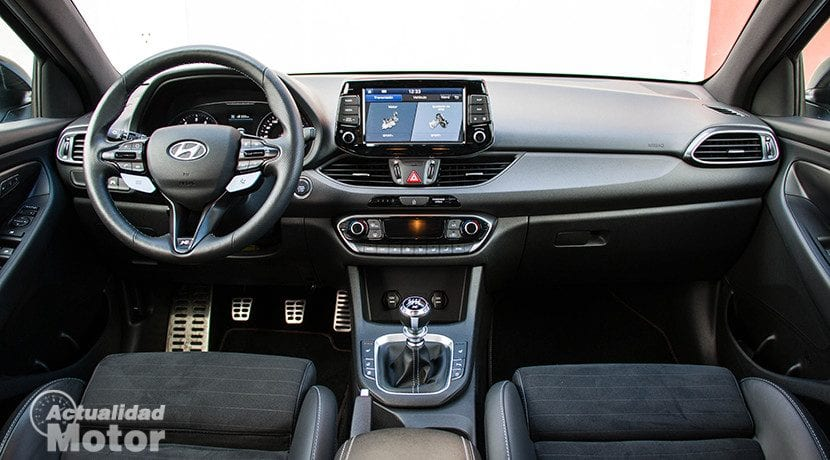 Interior del Hyundai i30 N