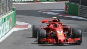 Kimi Raikkonen F1 2018 Baku
