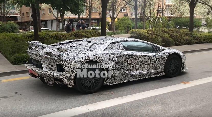 Fotos espía Lamborghini Aventador SuperVeloce Jota