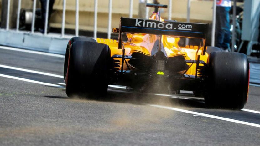 McLaren MCL33 en Baku