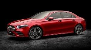 Mercedes Clase A L para el mercado chino