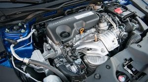 Motor diésel del Honda Civic
