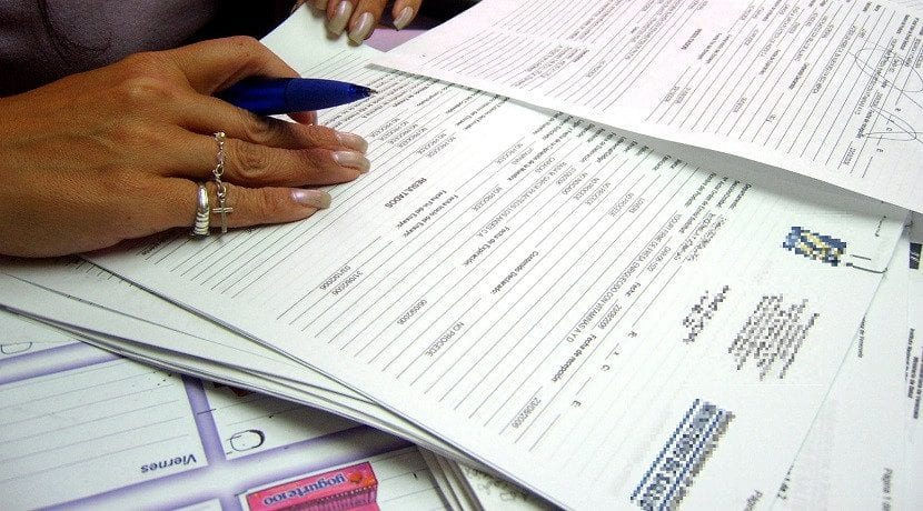Documentación necesaria carnet de conducir