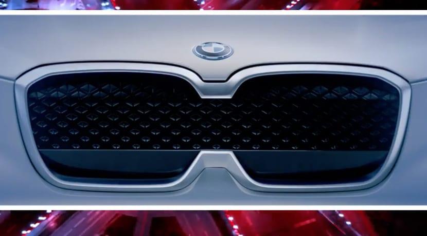 Teaser del BMW iX3 Concept