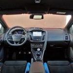 Prueba Ford Focus RS diseño interior salpicadero