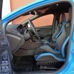 Prueba Ford Focus RS plazas delanteras