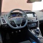 Prueba Ford Focus RS puesto de conducción