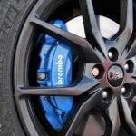Prueba Ford Focus RS detalle frenos
