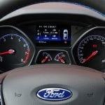 Prueba Ford Focus RS cuadro de instrumentos