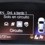 Prueba Ford Focus RS modos conducción