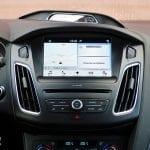 Prueba Ford Focus RS detalle salpicadero