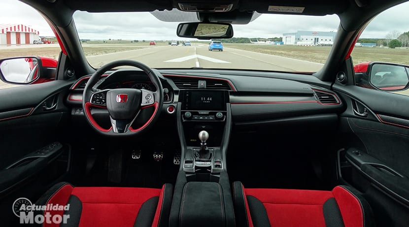 Prueba Honda Civic Type R salpicadero
