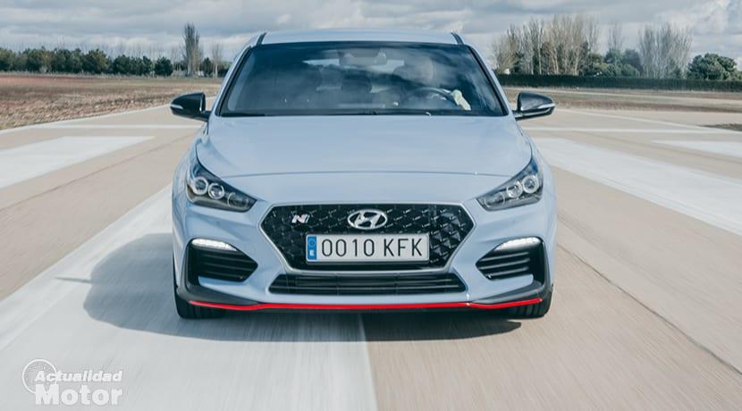 Comparativa Compactos Deportivos Hyundai i30 N dinámica