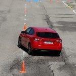 Prueba Subaru Impreza slalom