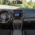 Prueba Subaru Impreza interior