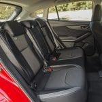 Prueba Subaru Impreza plazas traseras