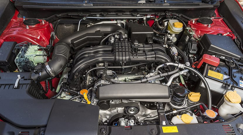 Motor Boxer 1.6 Subaru Impreza