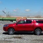 Prueba Toyota Hilux exterior