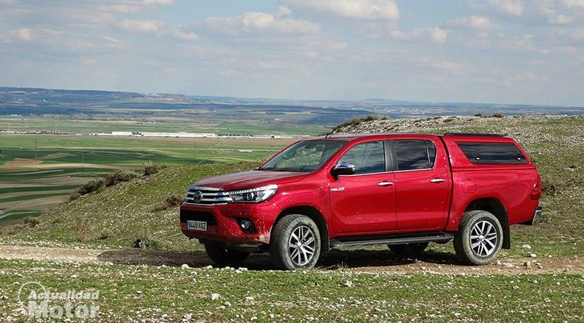 Prueba Toyota Hilux offroad