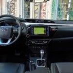 Prueba Toyota Hilux diseño salpicadero