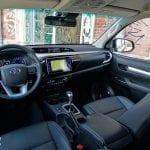 Prueba Toyota Hilux diseño interior