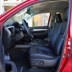 Prueba Toyota Hilux plazas delanteras