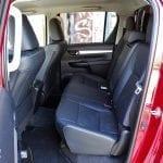 Prueba Toyota Hilux plazas traseras