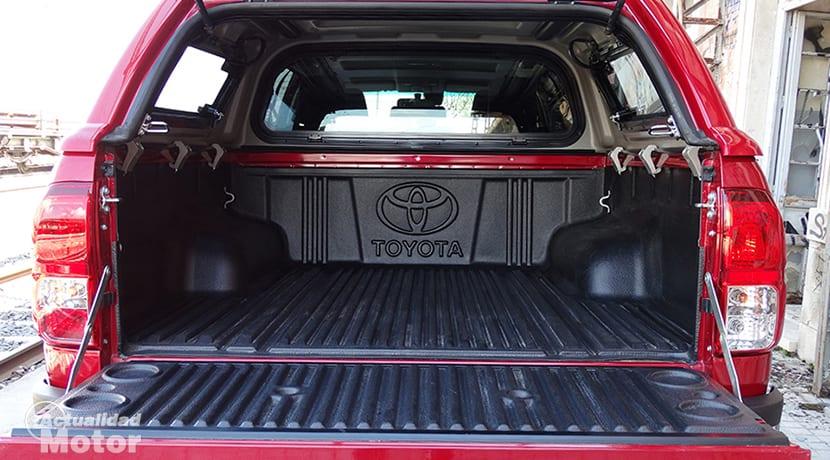Prueba Toyota Hilux caja