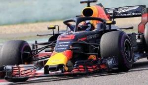 Ricciardo en el RB14