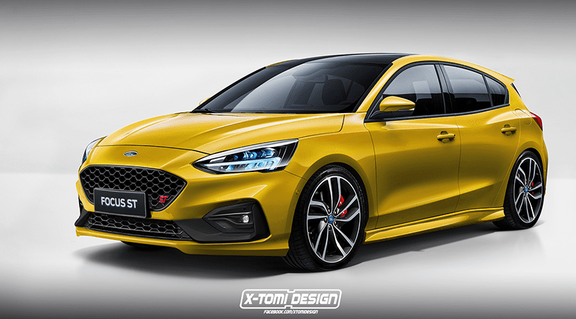 Render Ford Focus ST